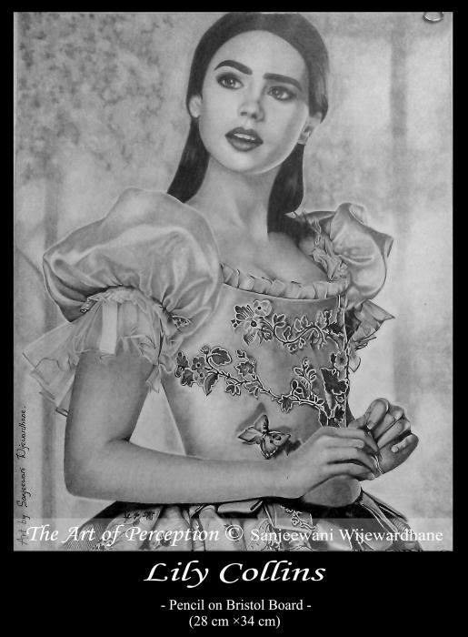 Lily Collins by sanjulkm